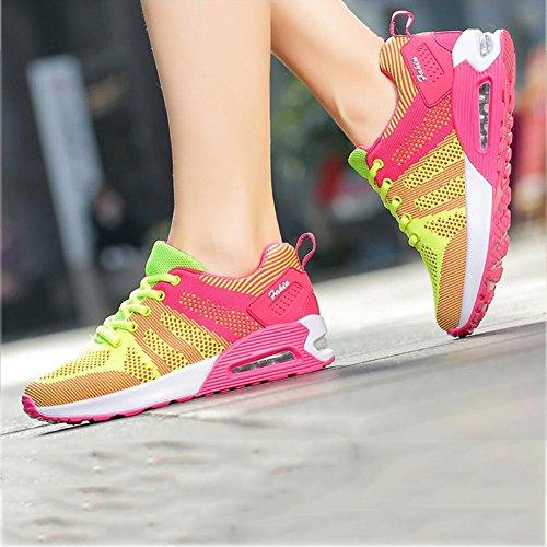 B Koreanische Neue 35 Multi Größe Tourismus Reisen Damenschuhe YaXuan Color Outdoor Laufschuhe Lauf Weiblich Farbe Freizeitschuhe Turnschuhe Damen EIN Luftkissen SqpwEFavw