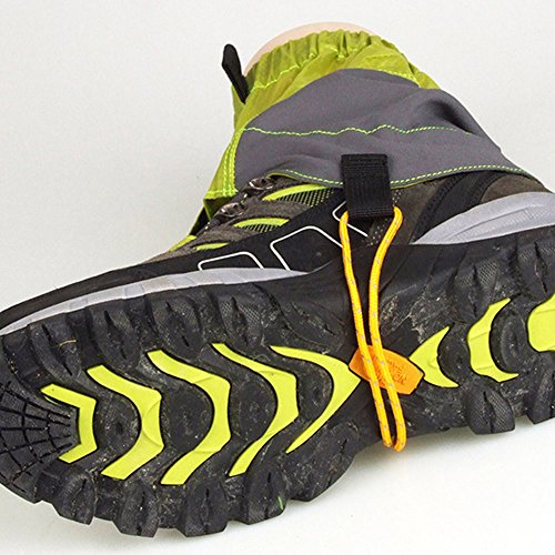 Guerbrilla Unisex Ultra Light Trail Snow Leg Gaiter Shorter Hiking Boots Gaiters Waterproof Gaiters