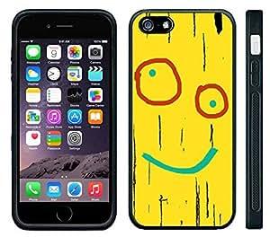 Apple iPhone 6 Black Rubber Silicone Case - Plank Ed Edd Eddy Yellow Plank Board Cartoon