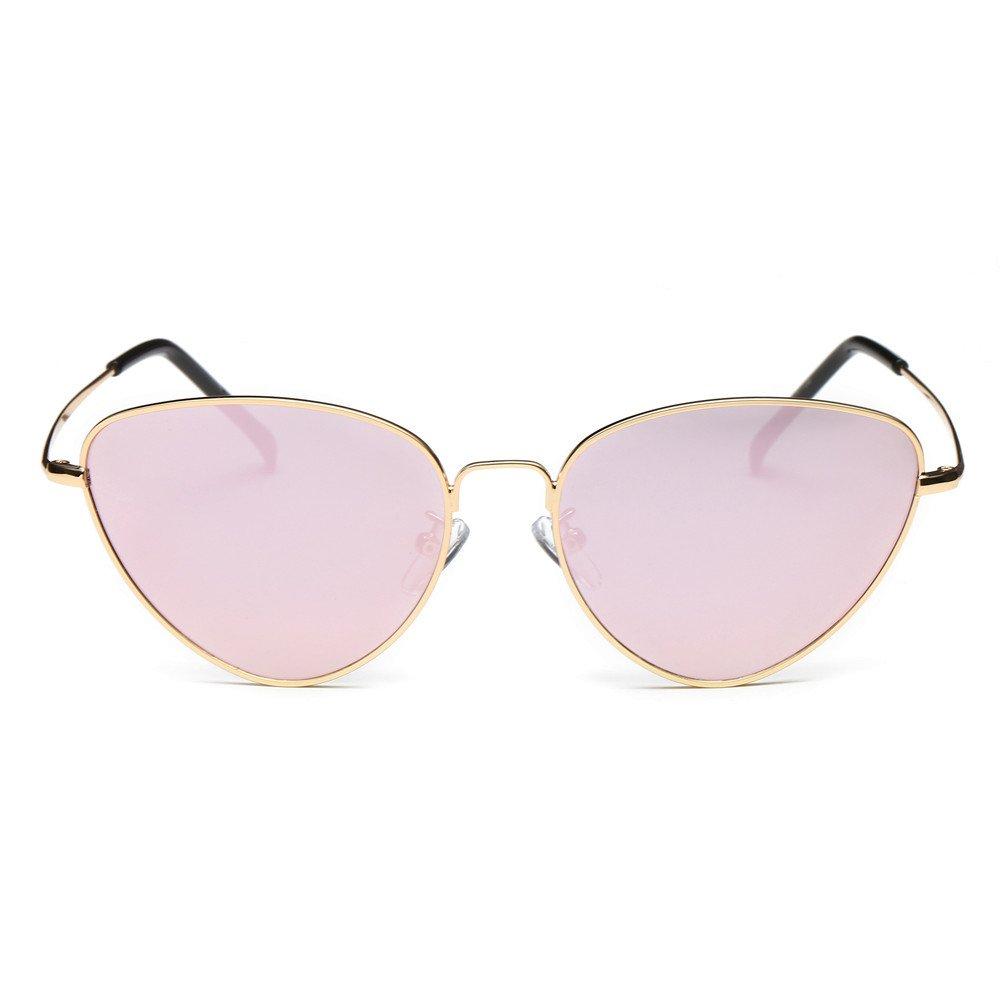 Gafas de Sol Mujer Grandes 2019 ✿☀ Zolimx Mujeres Hombres Verano Vintage Retro Gafas de Ojo de Gato Unisex Moda Aviador Espejo Lente Gafas de Sol de Viaje