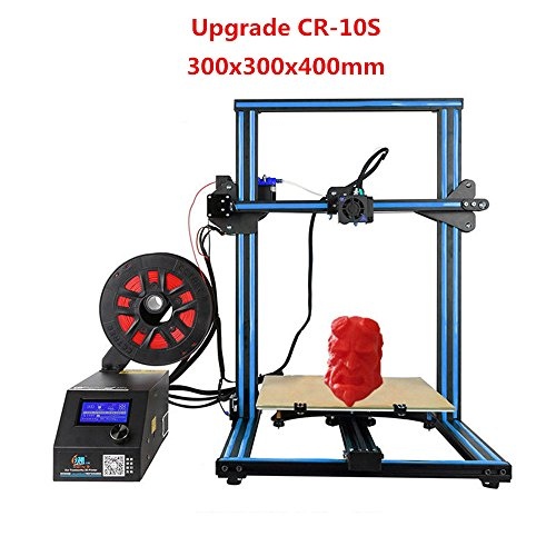 2017 Creality CR-10S 3D Printer Filament Monitor With Dual Z Axis 300x300x400mm (Blue) by Creality