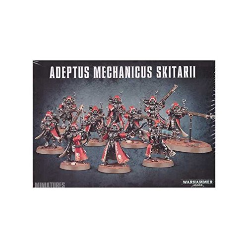 Warhammer 40,000 Adeptus Mechanicus Skitarii by Games Workshop by Warhammer 40,000