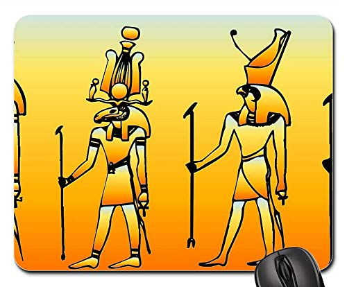 Mouse Pads - Egyptian Historical Pray Worship History Celebrate ()