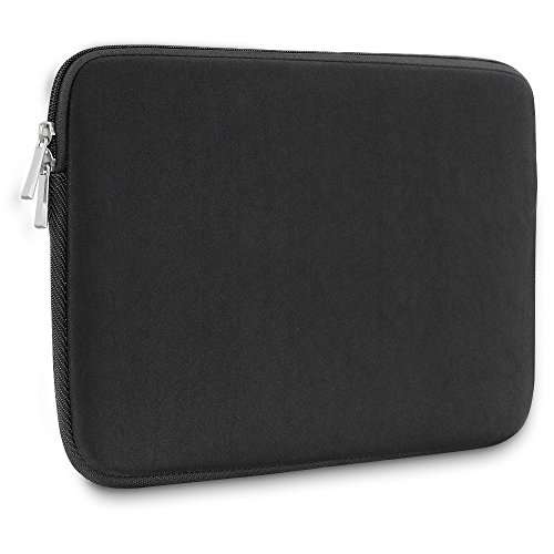 - MCUK 15-15.6 Inch Laptop Sleeve for Dell/Asus/Acer/HP/Toshiba/Lenovo Spill-Resistant Ultrabook Notebook Computer Pocket Tablet Briefcase Carrying Bag/Pouch Skin Cover (Black)