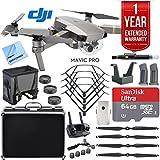 DJI Mavic Pro Platinum Quadcopter Drone with 1 Year Extended Warranty Plus Deluxe Accessories Bundle (Pro Platinum Single Battery Bundle)