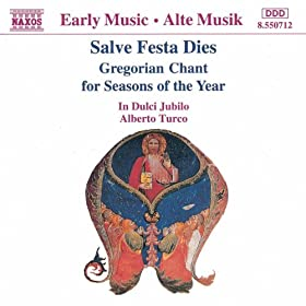 Amazon.com: Salve Festa Dies: Gregorian Chant for Seasons of the Year