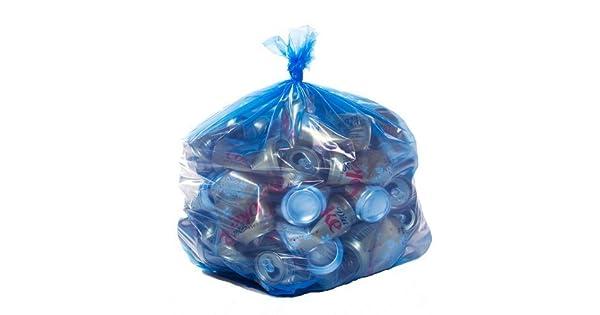 Amazon.com: toughbag Azul Bolsas para reciclaje, 40 Galón ...
