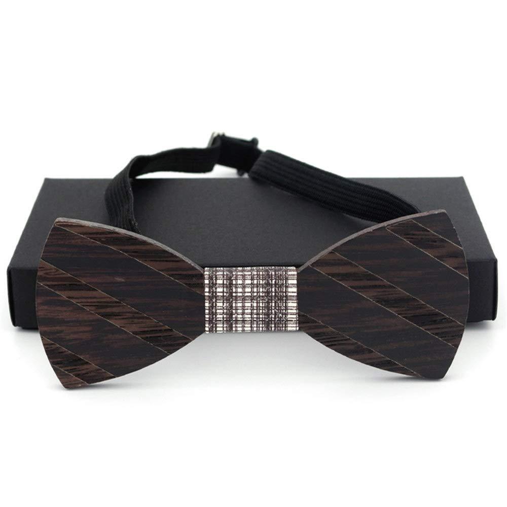 Corbata de lazo de madera para hombre Traje de madera para hombre ...