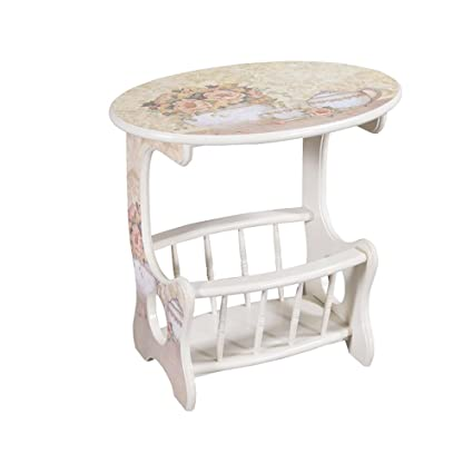 a050203cf0c81 Image Unavailable. Image not available for. Color  XIAOYAN End Table  American Country ...