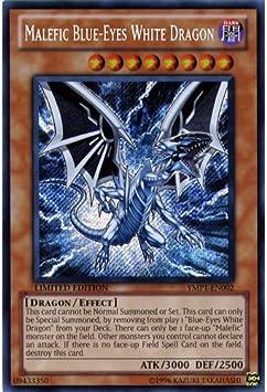 NM Details about  /YMP1-EN002 Yu-Gi-Oh Secret Rare Malefic Blue-Eyes White Dragon Limited Ed