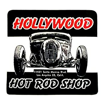 C-T STROKERS AUTO PARTS DRAG RACE HOT RAT ROD DECAL VINTAGE LOOK STICKER