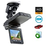 """OUKU®1280p Hd 2.5"""" LCD LED Night Vision Real Time Cctv In-car Dvr Accident Video Proof Camera Video Motion Detection Car DVR Recorder Dashboard"""