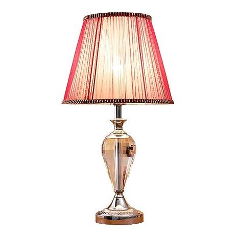 Lámpara De Mesa De Cristal Europeo Simple Creativo ...