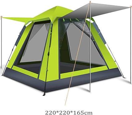 RDGDSGED 3-4 Persona Rápida Apertura automática Carpa de Camping ...