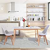 CozyCasa Kitchen Dining Table Mid-Century Simple