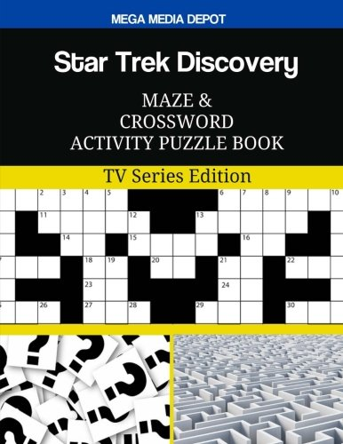 Read Online Star Trek Discovery Maze and Crossword Activity Puzzle Book: TV Series Edition ebook
