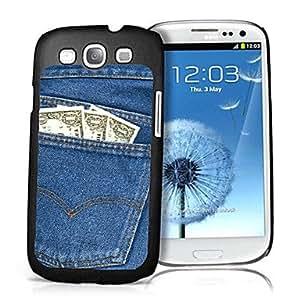 Bkjhkjy Jeans Pattern 3D Effect Case for Samsung S3 I9300