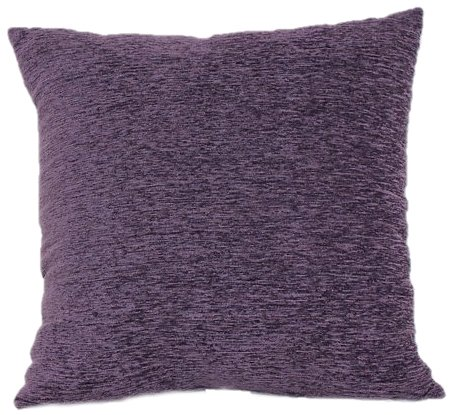 Set Brentwood Sofa - Brentwood 3438 Crown Chenille Floor Cushion, 24-Inch, Purple