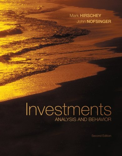 Download Investments with S&P bind-in card: Analysis and Behavior (Mcgraw-Hill/Irwin Series in Finance, Insurance, and Real Estate) Pdf