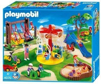 PLAYMOBIL 4070 -Terrain de jeu: Amazon.fr: Jeux et Jouets