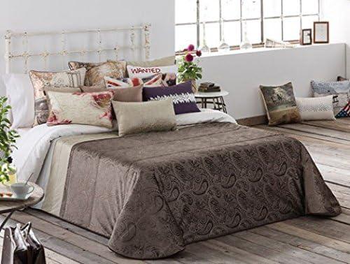 Antilo Colcha bouti dunya color único cama de 135: Amazon