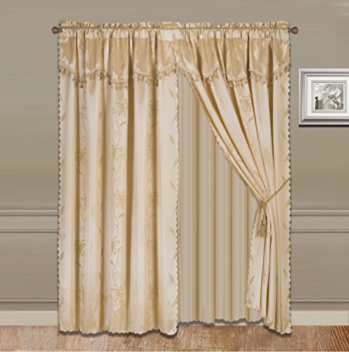 Curtain with Valance: Amazon.com