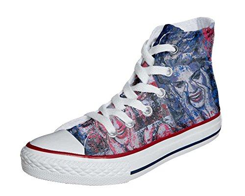 Personnalisé Yeux Sneaker Chaussures Produit Converse Imprimés Star Coutume mys Unisex All et Handmade Hi Italien Converse personnalisé wP6c0xIqz