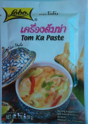 Lobo Tom Ka Paste Thai Food New Sealed 50g From Thailand by Thailand Shopping Online