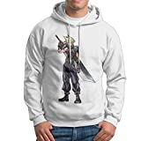 Man Boy Famouse Popular Anime Final Fantasy VII Hooded Pullover