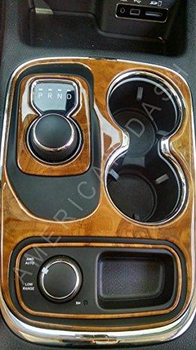 Dodge Durango Reviews >> DODGE DURANGO INTERIOR WOOD DASH TRIM KIT SET 2014 2015 2016 2017 - Buy Online in UAE ...