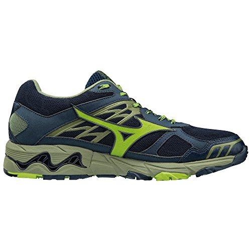 4 Olivine Mizuno Greenery tx G De Blues Wave Dress Chaussures Mujin Running Homme xffCa