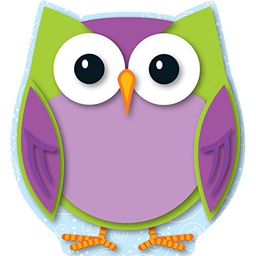 - Carson Dellosa Colorful Owl Cut-Outs (120133)