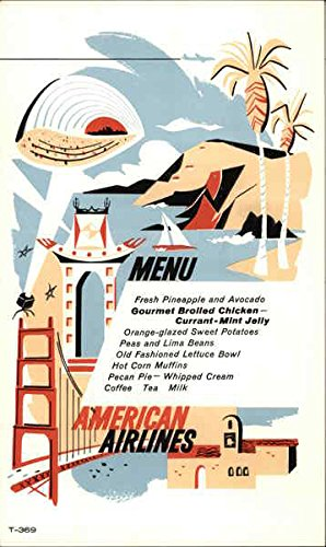Postcard Vintage Airline - American Airlines, First with Jets Across the U.S.A Airline Advertising Original Vintage Postcard