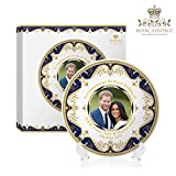 #6: Royal Heritage - Designed in England Harry and Meghan Markle Decorative Wedding Plate 6-Inch 6