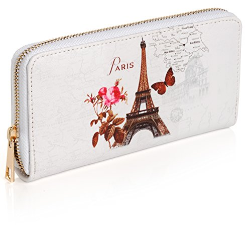 Paris Around Wallet Girls Women