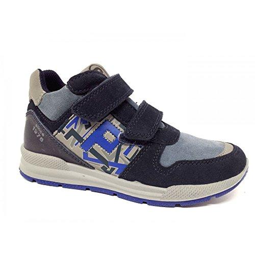 Primigi , Jungen Sneaker Blau blu/light grey