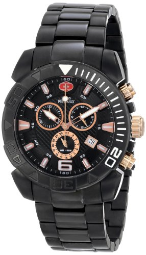 Swiss Precimax Men's SP13120 Recon Pro Analog Display Swiss Quartz Black Watch