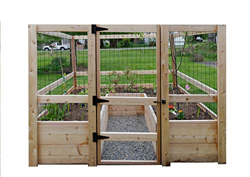 DeerProof Just Add Lumber Vegetable Garden Kit  8#039x8#039