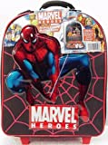 : Marvel Comic Superheroes Rolling Case & 6 Action Figures