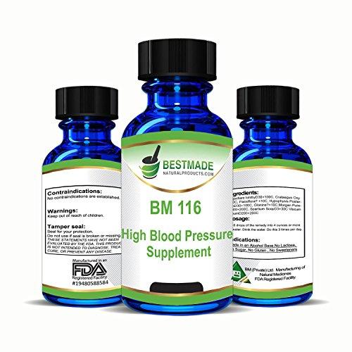 High Blood Pressure Supplement Natural Remedy (BM116)