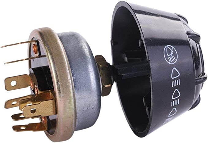 Leoboone Tractor Light//Horn Switch Fits for David Brown International Massey Ferguson