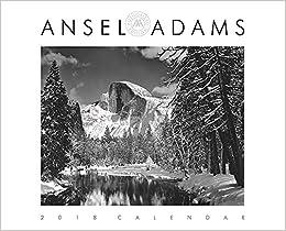 Ansel Adams 2018 Wall Calendar Amazoncouk Ansel Adams