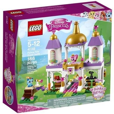 Beautiful 186-piece Disney Princess Palace Pets Royal Castle Play Set, Multicolor