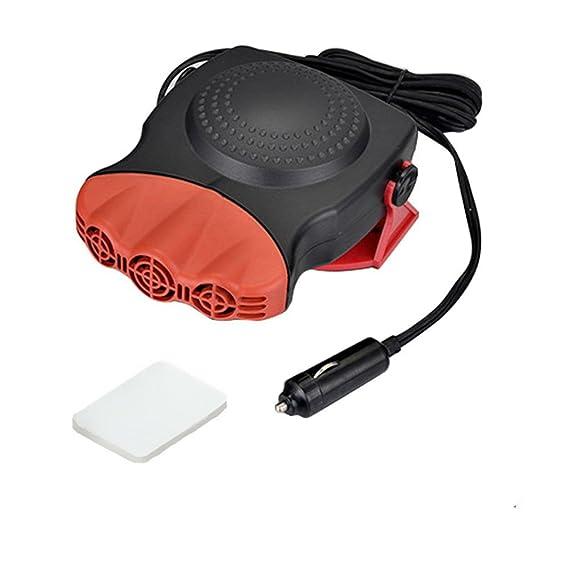 Calefacción para coche de la marca TKSTAR, 12 V, 150 W. Calefacción portátil para la cabina del coche, para descongelar y desempañar el parabrisas.