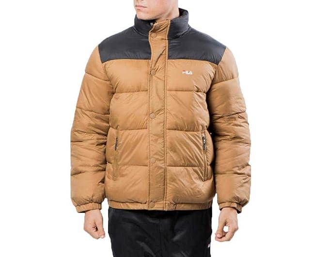 FILA. Piumino Men Raith Puff Jacket Cammello 682371 J87: Amazon.es: Ropa y accesorios
