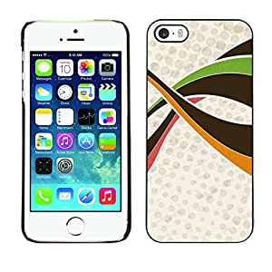 Hot Style Cell Phone PC Hard Case Cover // M00000088 Abstract Colourful Painting Pattern // Apple iPhone 5 5S