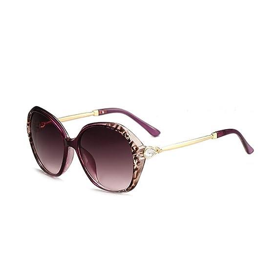 Xuxuou Gafas de Sol Polarizadas de Mujer UV400 Gafas de Rana Gafas de sol de Gama