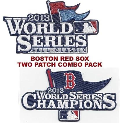 Amazon.com   2013 Boston Red Sox World Series Champions   Sleeve ... 607fcc4f47b