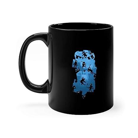 Amazon.com: Ninja Kick Ass Clash 11 oz Ceramic Funny Coffee ...