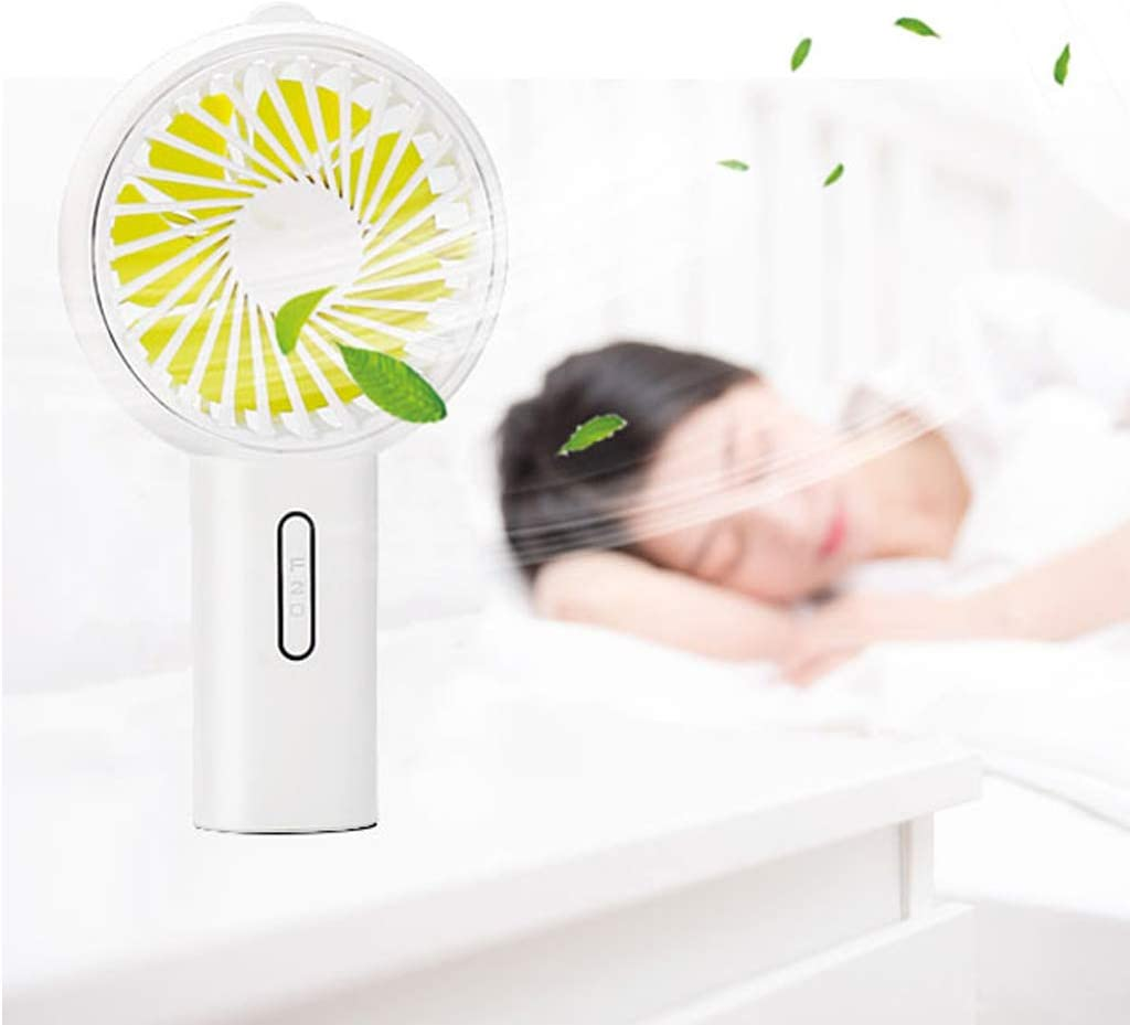 EAPTS Handheld Fan Cooling Desktop Stroller Air Fans Adjustable USB Rechargeable Portable Home Office School Travel